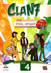 Clan 7 con hola amigos 4 podręcznik