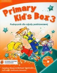 Primary Kid's Box 3 Podręcznik z płytą CD
