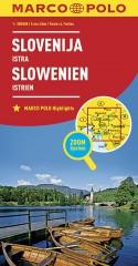 Słowenia Istria mapa