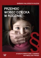 Przemoc wobec dziecka w rodzinie