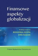 Finansowe aspekty globalizacji