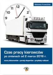 Czas pracy kierowców po zm.od 02.03.2016