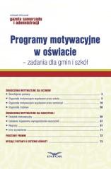 Programy motywacyjne w oświacie