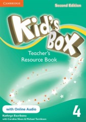 Kid's Box 4 Teacher's Resource Book with online audio