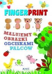 Fingerprint. Malujemy obrazki odciskami palców. Zestaw do malowania