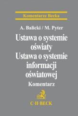 Ustawa o systemie oświaty Ustawa o systemie informacji oświatowej Komentarz