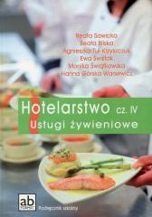 Hotelarstwo Część 4 Usługi żywieniowe Podręcznik
