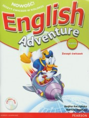 English Adventure Starter Zeszyt ćwiczeń + CD