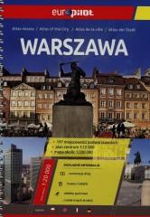 Warszawa Atlas miasta 1:20 000