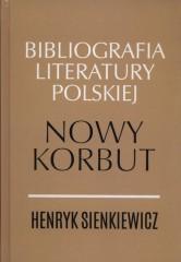 Henryk Sienkiewicz Nowy Nowy korbut