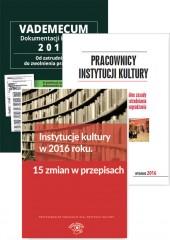 Instytucje kultury w 2016 r. Pracownicy instytucji kultury / Vademecum dokumentacji kadrow