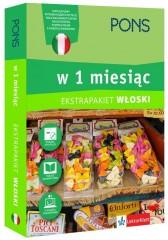 Włoski w 1 miesiąc z 3 tablicami językowymi i kursem online
