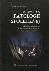 Zjawiska patologii społecznej