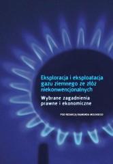 Eksploracja i eksploatacja gazu ziemnego ze złóż niekonwencjonalnych