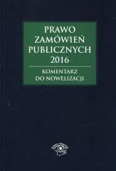 Prawo zamówień publicznych 2016