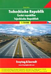 Czechy atlas samochodowy 1:150 000