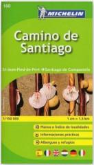 Camino de Santiago 1:150 000