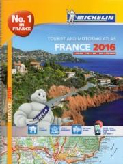 France atlas samochodowy 1:200 000