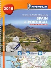 Spain Portugal atlas samochodowy 1:400 000