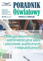 Obsługa ekonomiczno-administracyjna szkół i placówek publicznych i niepublicznych