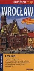 Wrocław Plan miasta 1:22 500  laminowany
