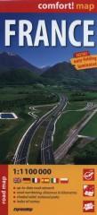 Francja France road map 1:1100000