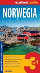 Norwegia Przewodnik atlas mapa