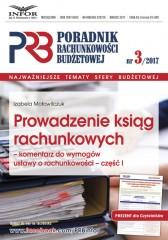 Prowadzenie ksiąg rachunkowych-komentarz do wymogów ustawy o rachunkowości-cz.I