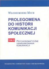 Prolegomena do historii komunikacji społecznej Tom 4