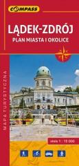 Lądek-Zdrój i okolice mapa turystyczna 1:15 000