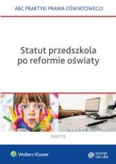 Statut przedszkola po reformie oświaty