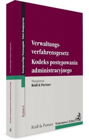 Kodeks postępowania administracyjnego Verwaltungsverfahrensgesetz