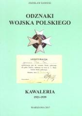 Odznaki Wojska Polskiego Kawaleria 1921 -1939