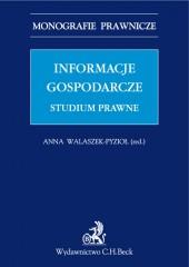 Informacje gospodarcze Studium prawne
