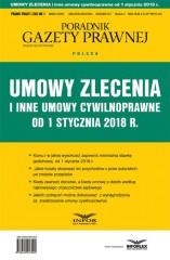 Umowy zlecenia i inne umowy cywilnoprawne od 1 stycznia 2018