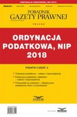 Ordynacja Podatkowa NIP 2018 Podatki Część 3