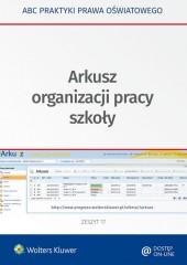 Arkusz organizacji pracy szkoły