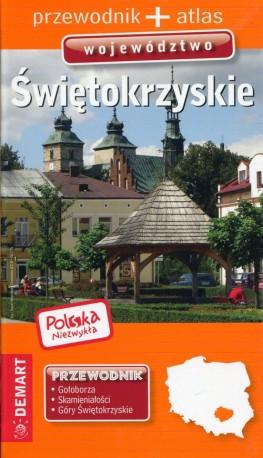 Polska niezwykła Województwo świętokrzyskie Przewodnik + atlas