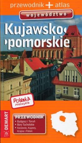 Polska niezwykła Kujawsko-pomorskie Przewodnik + atlas