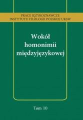 Wokół homonimii międzyjęzykowej
