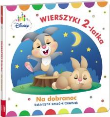 Disney Maluch Wierszyki dwulatka na dobranoc