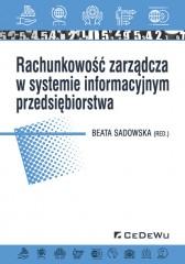 Rachunkowość zarządcza w systemie informacyjnym przedsiębiorstwa