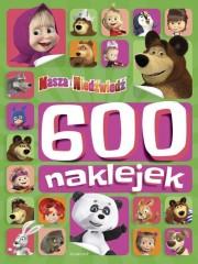 Masza i Niedźwiedź 600 naklejek