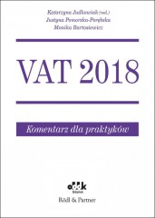 VAT 2018 Komentarz dla praktyków