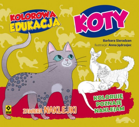 Kolorowa edukacja Koty