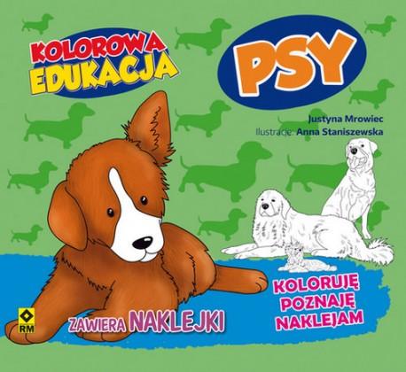 Kolorowa edukacja Psy