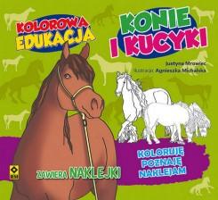 Kolorowa edukacja Konie i kucyki