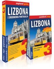 Lizbona i środkowa Portugalia 3w1 Przewodnik+atlas+mapa