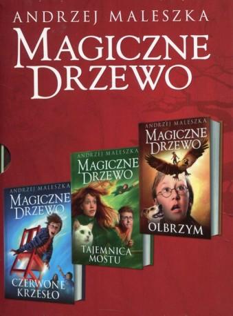 Magiczne Drzewo Tajemnica mostu nowa wersja / Olbrzym / Czerwone krzesło