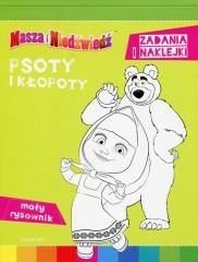 Masza i Niedźwiedź Psoty i kłopoty
